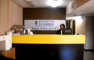 coastal lumber front office