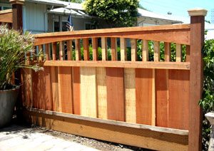 Redwood Red Cedar Fencing
