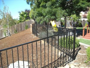 4 foot wrought iron view fence - 2
