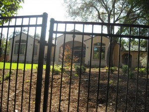6 foot wrought iron view fence - 2