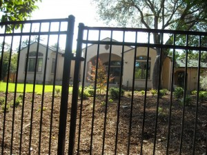 6 foot wrought iron view fence