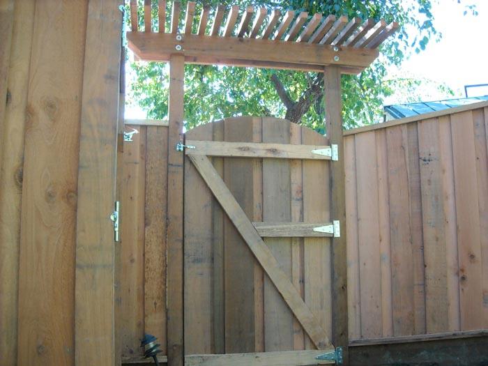 Coastal Lumber Custom Built Gates Image Gallery