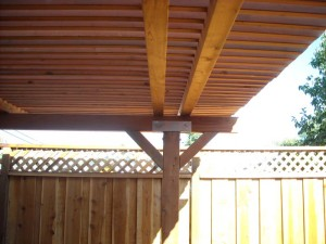 redwood patio cover -2