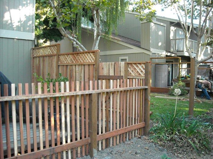 Coastal Lumber Wood Fencing Installations Image Gallery