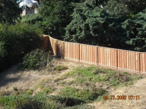 Coastal Lumber Wood Fencing Installations Image Gallery
